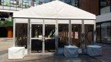 De openlucht Tent van de Partij van de Markttent van het Huwelijk van de Gebeurtenis Grote met de Muur van het Glas