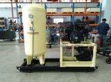 30 bares de doble husillo de compresor de aire para la industria láser