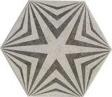Cememtの六角形の建築材料260*300mmより多くのパターン磁器の床タイル