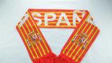 Шарф полиэфира шарфа кубка мира с подгонянным логосом