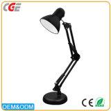 Heiße verkaufende schwarze flexible Buch-Lampen der Hotel-Tisch-Lampen-faltbare Metallschreibtisch-Lampen-LED