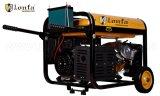 soldadura do motor 5kVA/gerador do soldador com punho e rodas