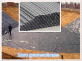 Geomembrane con color azul, negro, blanco