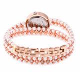 Relojes de Pulsera de perlas Regalo Relojes de alto nivel de diamantes para damas