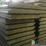 Feuerfeste Rockwool Zwischenlage-Panels für Stahlgebäude