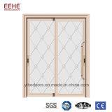 열 틈 알루미늄 문 공기 증거 외부 유리제 미닫이 문