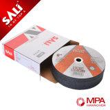 100mm Rad-weiße Aluminiumoxyd-Ausschnitt-Platte für Inox