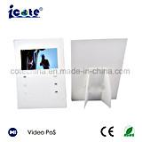 Folleto de Vídeo LCD en blanco personalizados con el diseño de Stand