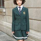 Revestimento feito sob encomenda da graduação das calças do vestido dos uniformes da classe dos meninos e das meninas das fardas da escola do outono e do inverno