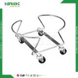 卸し売りハンドルの金属線の鋼鉄網の販売のための装飾的な買物かご