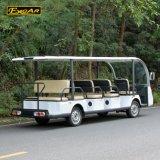 Bus facente un giro turistico elettrico dei passeggeri superiori di vendita 14 della Cina
