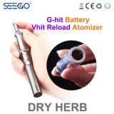 기화기 펜 Seego 도매 Vhit Reload+Ghit 건전지 건조한 나물 펜