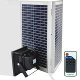 30W à LED solaire projecteurs, voyant de contrôle à distance RF à l'extérieur projecteur solaire Imperméable