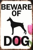 مدركة من كلب معدنة إشارات