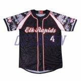 Camicia di baseball di stampa del poliestere della squadra dell'OEM Cusotmized della Cina (B009)