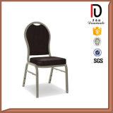 Stackable стул PU кожаный стальной