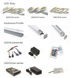 IP67 가득 차있는 방수 SMD 3528 4W/M 높은 볼트 유연한 LED 지구 빛