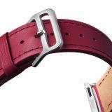 De modieuze Band van het Polshorloge, de Echte Band van het Horloge van het Patroon van de Douane van het Leer voor het Horloge van de Appel
