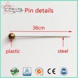 Pin di cucito degli accessori del metallo capo di plastica del commercio all'ingrosso 38mm