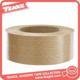 高い引張強さ、包装のために紙テープHotmeltの接着剤接着剤によって補強されるクラフト