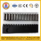 Estante de engranaje de acero y de nylon para la puerta de desplazamiento