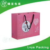 La couleur de pliage sac de papier personnalisés Shopping sac de papier Logo d'impression