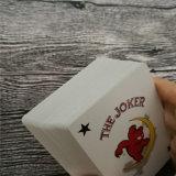 Kundenspezifisches schwarzes Hülsenpapier-Kasino-Spielkarten