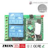 interruptor 2-Channel de controle remoto sem fio para o motor para diante e reverso