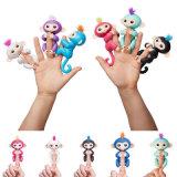 Regali interattivi di natale del giocattolo del gancio di movimento della barretta del suono della scimmia del bambino dei pesciolini
