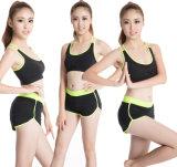 L'usura di sport imposta l'insieme della tuta dei vestiti di yoga delle donne