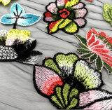 Tessuto del merletto di disegno del ricamo di 2017 modi nuovo