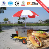 Hotdog-Schlussteil/mobile Schnellimbiss-Karre