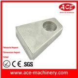 드릴 구멍을%s 가진 알루미늄 격판덮개의 CNC 기계로 가공
