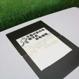 Secar la tarjeta magnética coloreada magnética de la pista de nota del Erase