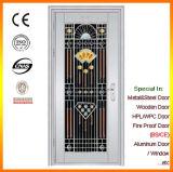 ステンレス鋼の機密保護のドアの単一の振動ドアの工場