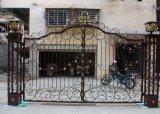 Porta de venda quente do ferro feito de entrada principal da casa