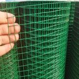 Пвх покрытие оцинкованной стали сварной проволочной сетки для стены безопасности