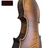 Musikinstrument-festes Holz-Antike-Violine mit Violinen-Kasten