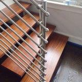 304 316 la varilla de 8mm de acero inoxidable Baranda escalera balcón