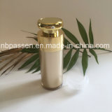 Ouro luxuoso Skincare que empacota o frasco mal ventilado acrílico da loção 30ml (PPC-NEW-183)