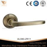 등록 문 (AL014-ZR02)를 위한 로즈에 알루미늄 레버 자물쇠 손잡이