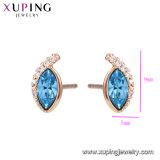 Xuping Swarovski 절묘한 외관 귀걸이에서 매력적인 다이아몬드 형식 결정