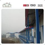Casa de frame de aço pré-fabricada moderna da instalação rápida