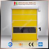 안전 건축재료 자동적인 고속 급속한 회전 문 (Hz HS013)