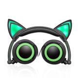 女の子のための白熱猫耳の日本製アニメの方法ヘッドホーン