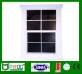 L'Australie Hung fenêtre Double standard en aluminium avec double vitrage