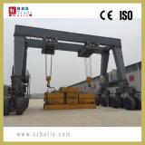 Tiro 180 ton straddle carrier a máquina
