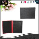 Casella di memoria di cuoio nera su ordinazione in Cina (6040)