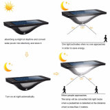 16 LED Impermeable IP65 Sensor de movimiento PIR Luz de pared de luz solar con luz tenue