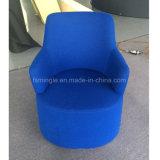 車輪が付いているロビーのための装飾されたファブリック余暇の単一の椅子